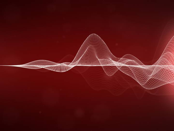 voice search sound wave rendering