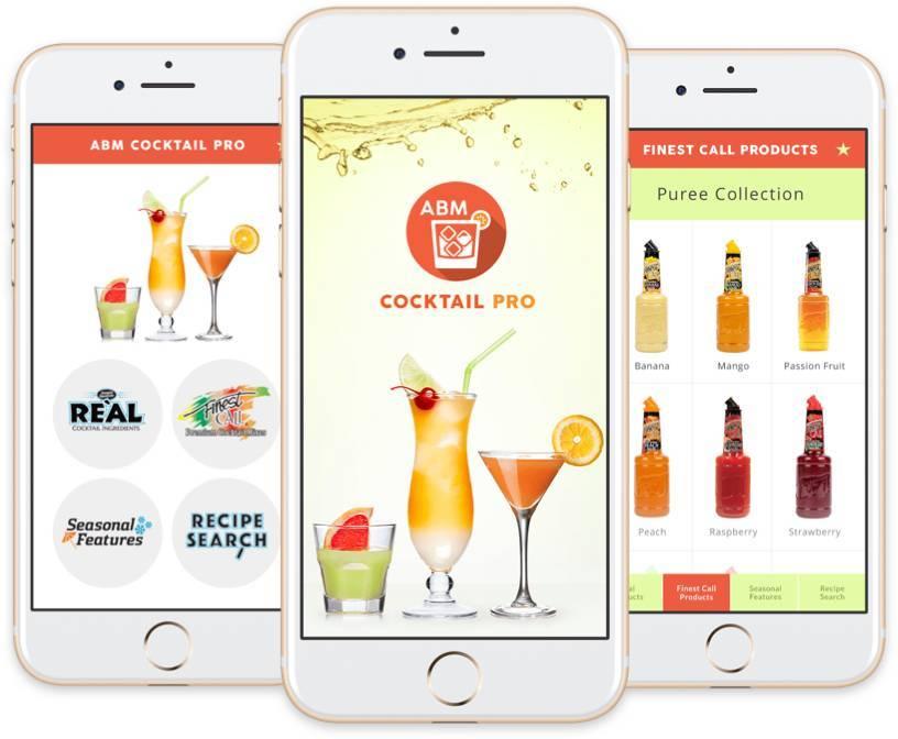 Views of the ABM app.