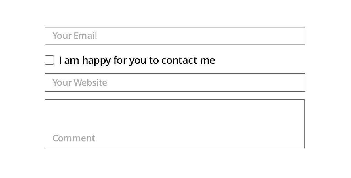bad accessibility Form field
