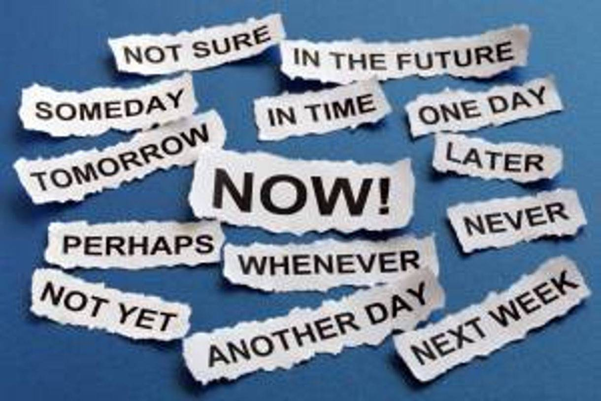 keywords and terms related to procrastination