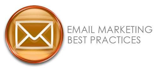 Graphic saying Email Marketing Best Practices