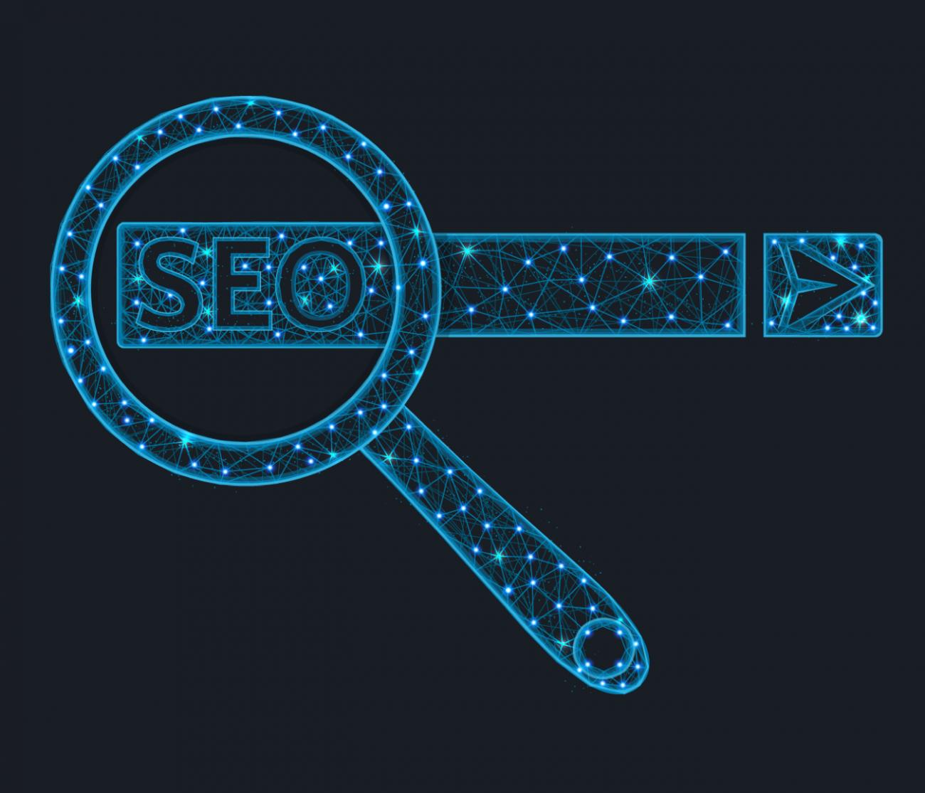 graphic illustration Search Engine Optimization