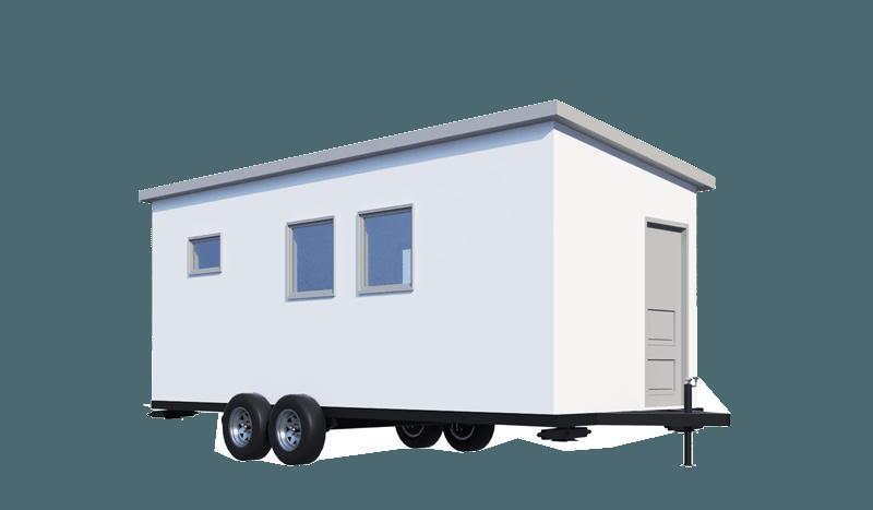 Tiny home kit render