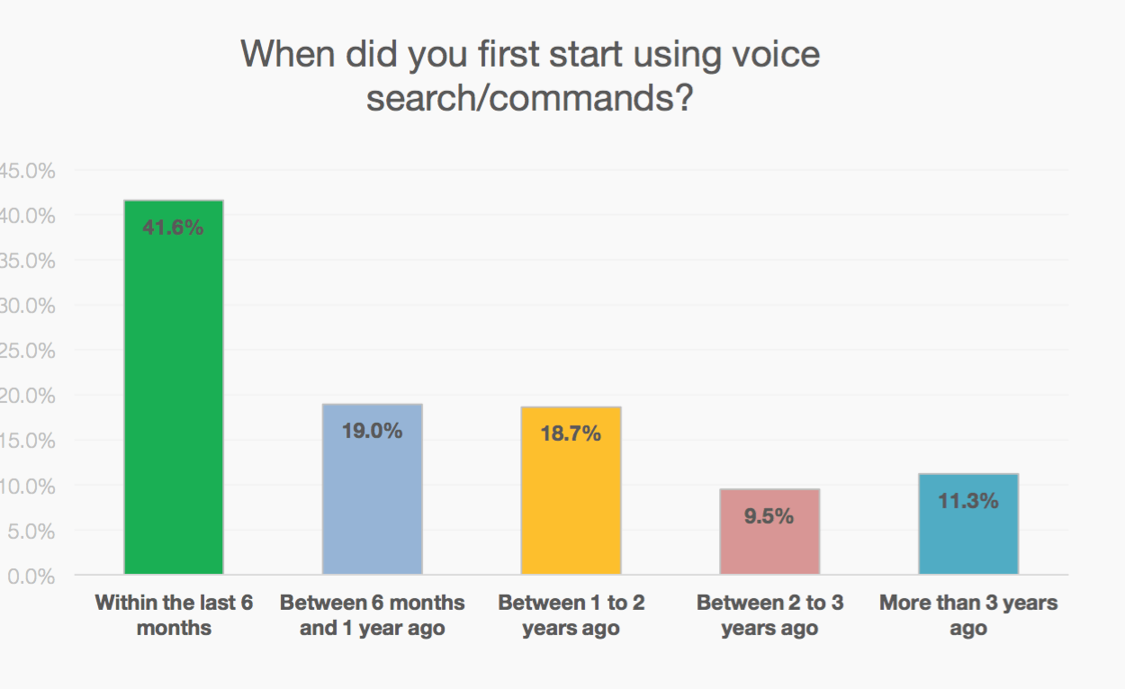 Voice Search Adoption