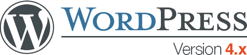 image of WordPress v4 logo
